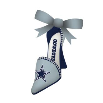 Dallas Cowboys Shoe Ornament