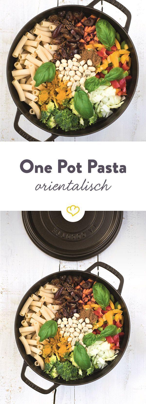 Hier kommt zusammen, was zusammen gehört: Feine Süße und milde Schärfe. Und das alles in einem Topf - mit extra viel Pasta und buntem Gemüseallerlei.