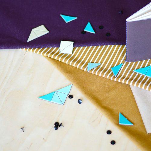 Denim College+, Plum | NOSH Autumn & Winter 2016 Fabric Collection is now available at en.nosh.fi | NOSH syksyn 2016 uutuuskankaat saatavilla verkosta nosh.fi