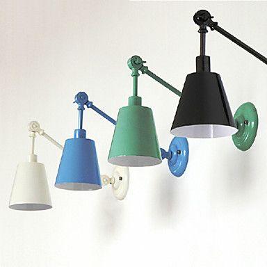 mini wandlamp 1 licht modern schilderij metalen 220v – EUR € 85.95