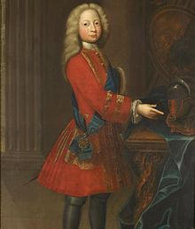 Frederick Louis, Prince of Wales (1 February 1707 – 31 March 1751) was heir apparent to the British throne from 1727 until his death. He was the eldest but estranged son of King George II and Caroline of Ansbach, as well as the father of King George III.