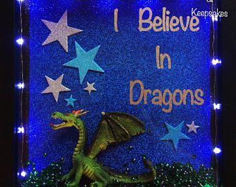 Dragon Night Light Gift, Boys Night Light, Boys Room Decor