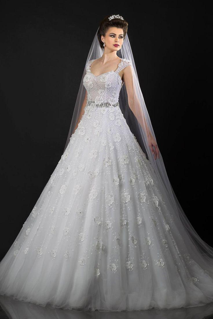 629 besten Lux Wedding Dresses Bilder auf Pinterest ...