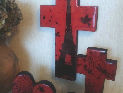 Resin Finished Cross