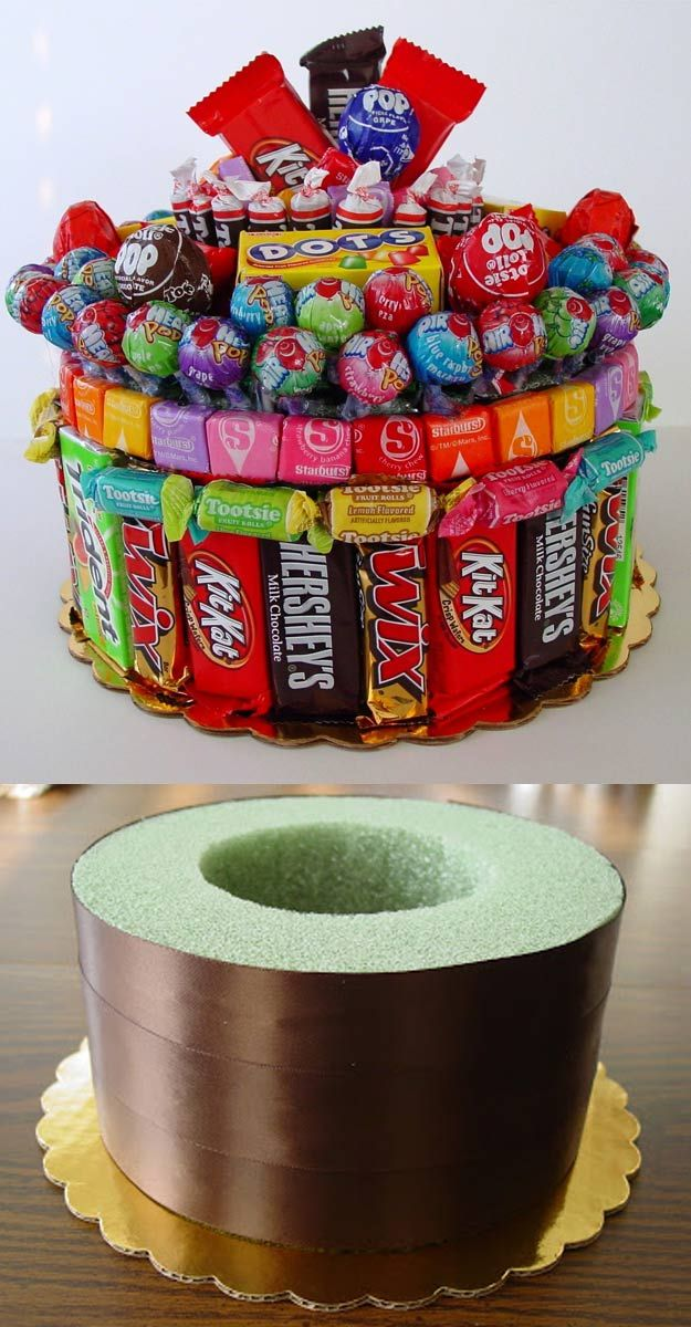 DIY Gifts for Your Girlfriend and Cool Homemade Gift Ideas for Her Easy Creative DIY Projects and Tutorials for Christmas, Birthday and Anniversary Gifts for Mom, Sister, Aunt, Teacher or Friends Creative Cavity Cake Gift Idea for Sugar Lovers Cool
