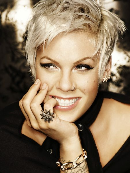 P!nk Funhouse Promo PhotoMusic, Girls Crushes, Beth Moore, Shorts Haircuts, Hair Cut, Pink, Hair Style, Shorts Hairstyles, Pixie Cut