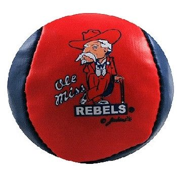University Of Mississippi 'Ol Miss Ball Hacky Sack Case Pack 96