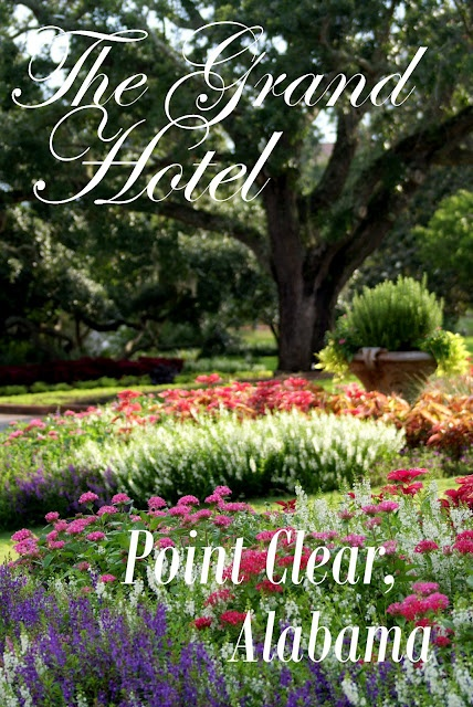 A Little Loveliness: The Grand Hotel in Point Clear, Alabama
