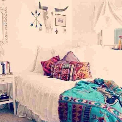 Indie bedrooms tumblr boho indie bedroom ideas teenage for Bedroom ideas indie