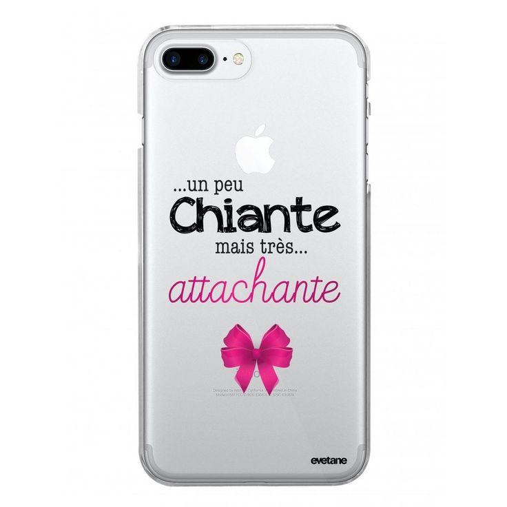 Coque Souple Iphone 7 Plus / 8 Plus Souple Transparente Un Peu Chiante Tres Atta…