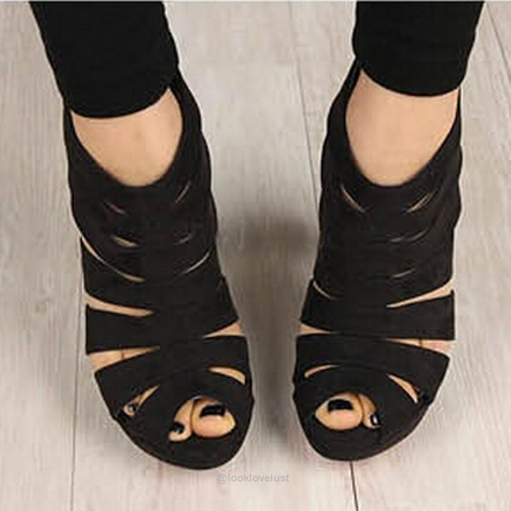 Gladiator Cut Out Peep Toe Pumps -  - Shoes, www.looklovelust.com - 4,  https://www.looklovelust.com/products/gladiator-cut-out-peep-toe-pumps