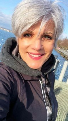 Short haircuts for women over 50 can be found here with different options. Especially older ladies most prefer the pixie cut styles, but bob haircut