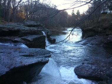 The Waterfall House a vacation home rental in the Catskills near Woodstock and the Hudson Valley.: Favorite Place