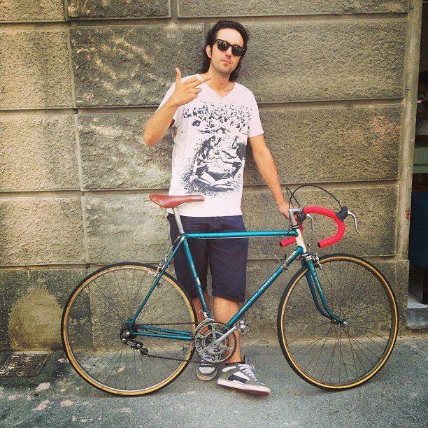 bici da corsa vintage - pai bikery - torino