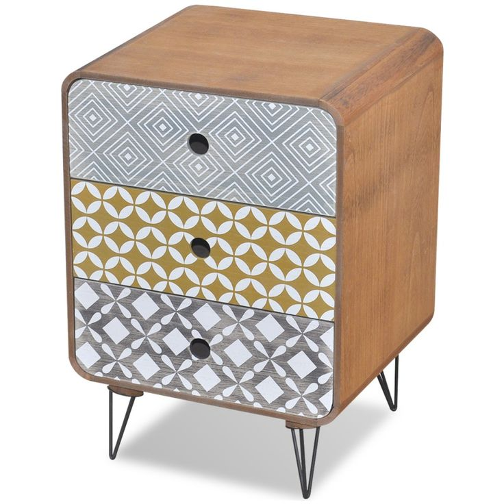 Brown Bedside Table Cabinet Specification ThisBrown Bedside Table Cabinet will make a practical as well as highly decorative addition to your bedroom, living area or lounge room. Assembly is really easy. | eBay!