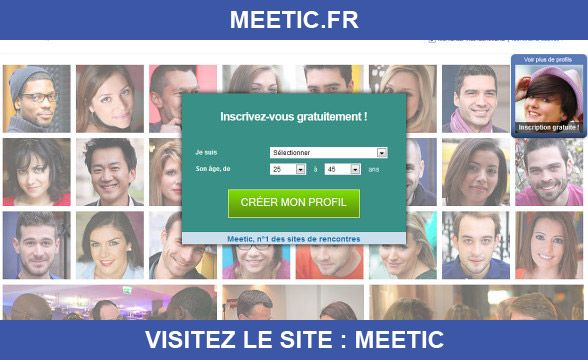 Meetic est l'un des leader européen de la rencontre sérieuse en ligne, en quelques années il a su s'imposer. Venez découvrir les milliers de membres en passant par notre site Topyweb pour bénéficier de lien promotionnel.