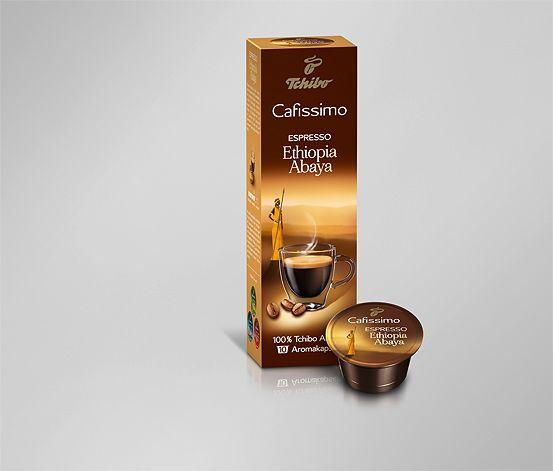 Espresso Ethiopia Abaya, 10 kapslí