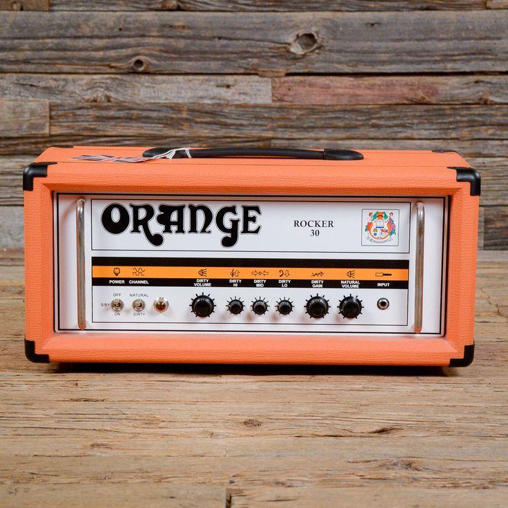 Orange Rocker 30 Tube Amp Head (UK Made) USED