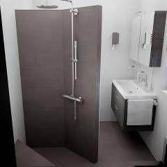 20 beste idee n over douche tegel ontwerpen op pinterest - Betegelde badkamer ontwerp ...