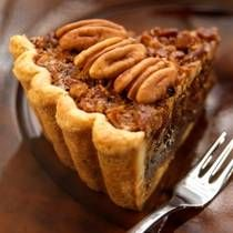 Southern Pecan Pie - This is a classic pecan pie, made with corn syrup, pecan halves, butter, and eggs.