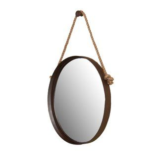 August Grove® Winters Oval Oversized Wall Mirror