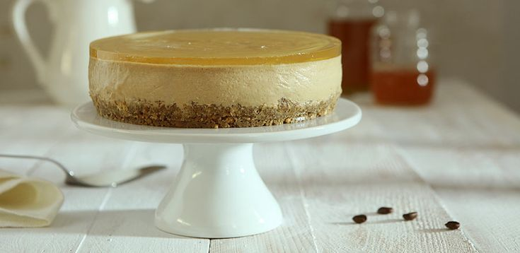 Coffee Cheesecake With Honey Jelly | Dessert Recipe | Lavazza US