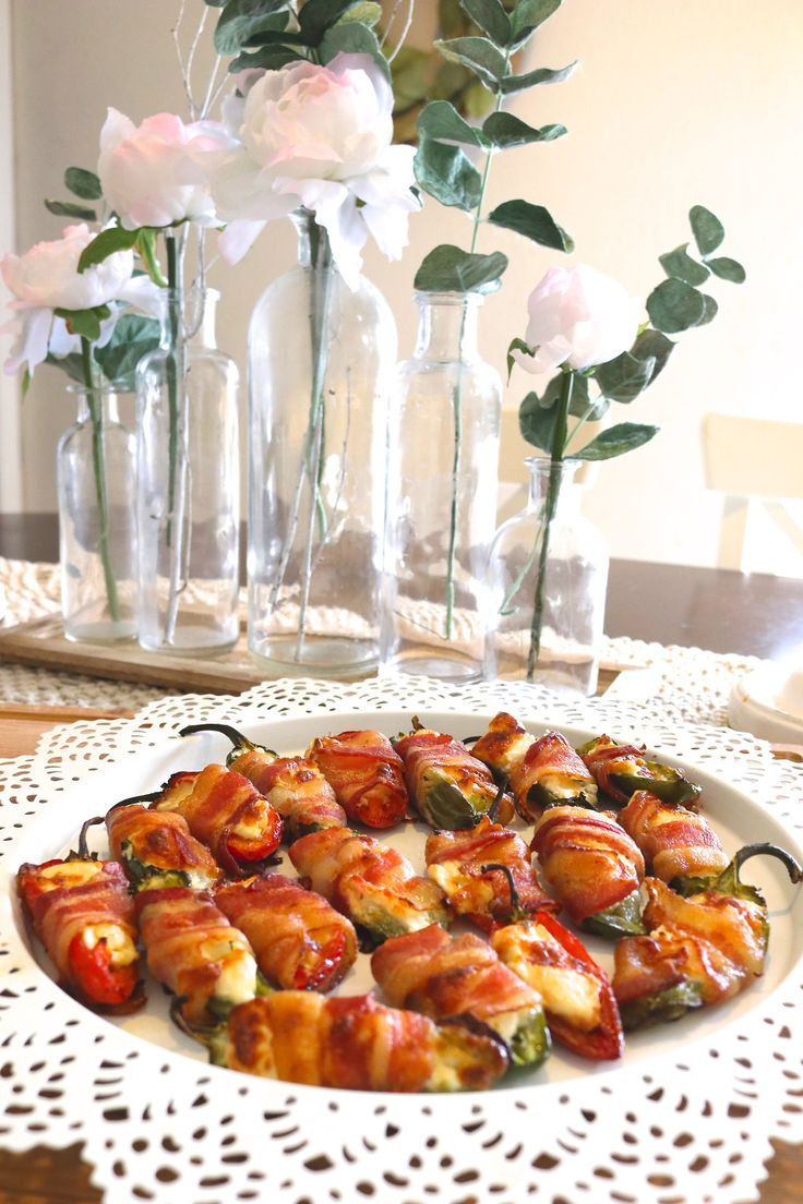 What is a popper? Poppers are jalapeño peppers thathave beenhallowed, stuffed with a mixture of cheese, bacon, spices, meat and then heated. My family loves hot peppers, salsa and anything spicy. I must always have some kind of peppers in my kitchen as I make something spicy almost daily. My brother-in-law used to make these …