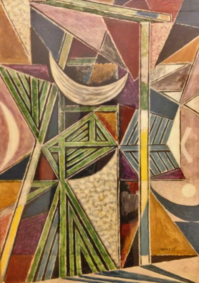 """Nikos Hatzikyriakos-Ghika """"Trellises and shadows"""" — at A. G. Leventis Gallery. Nicosia"""