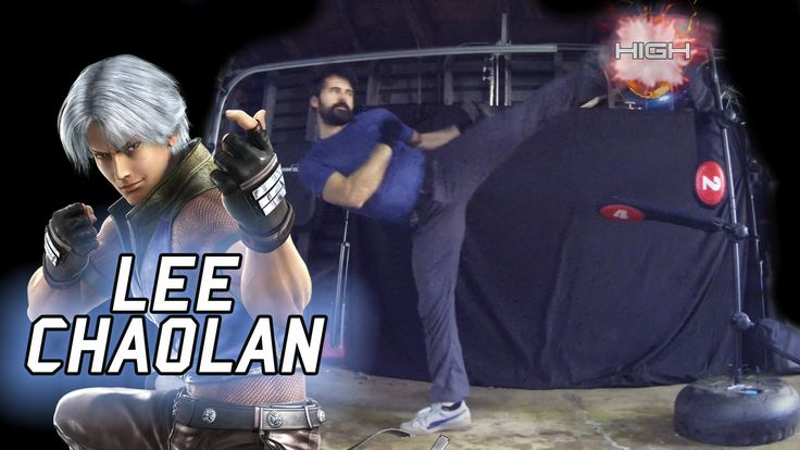 Lee Chaolan - Tekken Movelist IRL [Eric Jacobus]