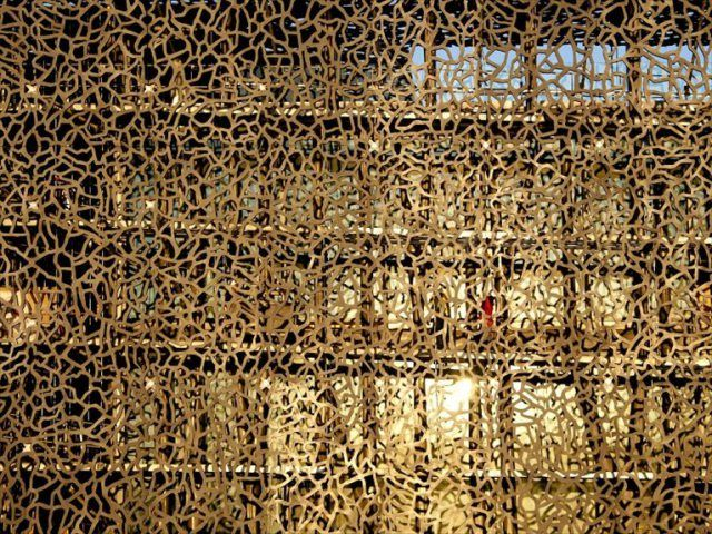 le mucem de rudy ricciotti moucharabieh decorative window screens perforated screens. Black Bedroom Furniture Sets. Home Design Ideas