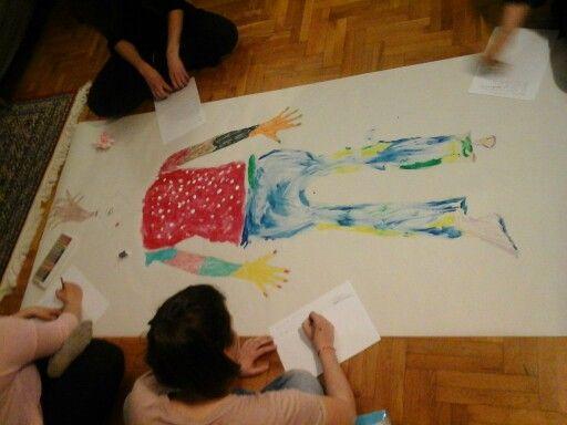 Group Therapy - Dramatherapy session www.psychologos-papadakis.gr