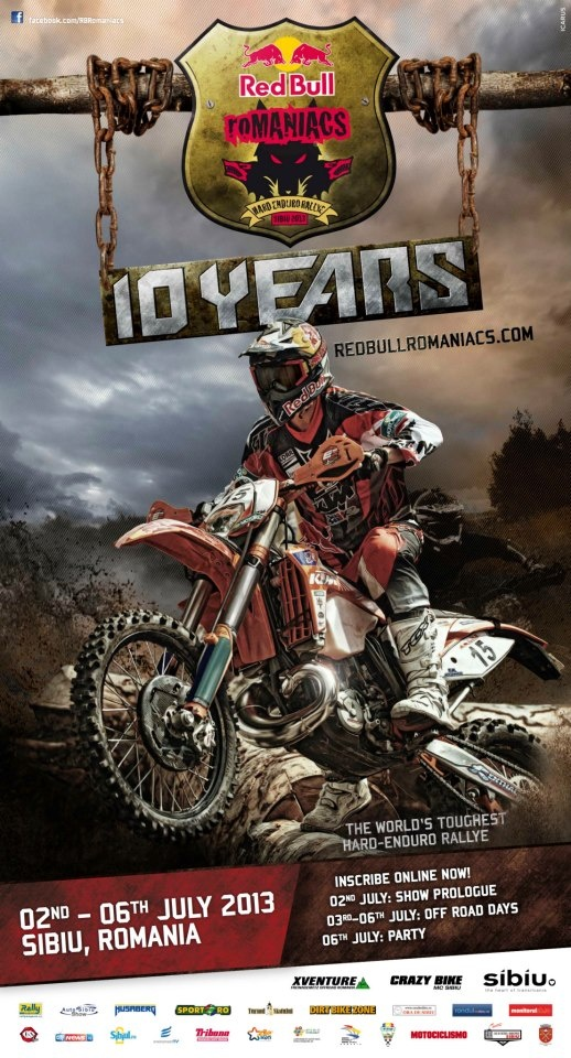 10th edition of the Red Bull Romaniacs