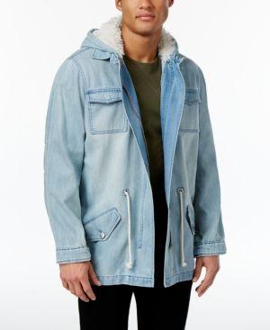 Jaywalker Men's Parka Jacket, Only at Macy's  - Blue