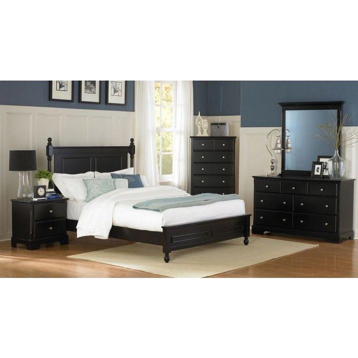 Homelegance Morelle Poster Bedroom Set In Black Queen Bedroom Sets Bedroom Sets In 2021 Wood Bedroom Sets Bedroom Furniture Sets Bedroom Set