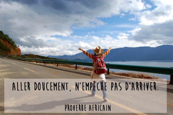 Proverbe africain sur la patience