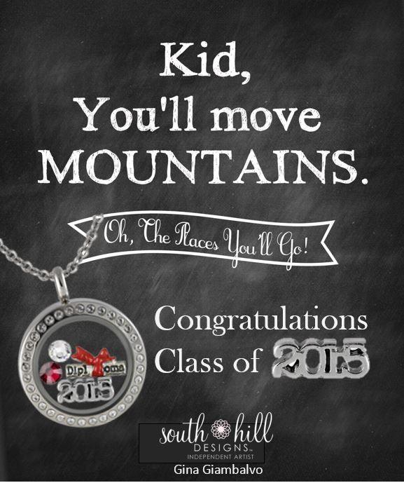 Graduates 2015 custom locket