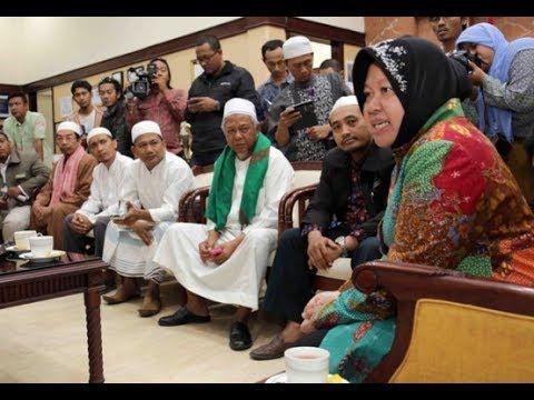 58 Ormas Islam Dukung Risma Tutup Dolly vs PDIP yang Pro lokalisasi gang...