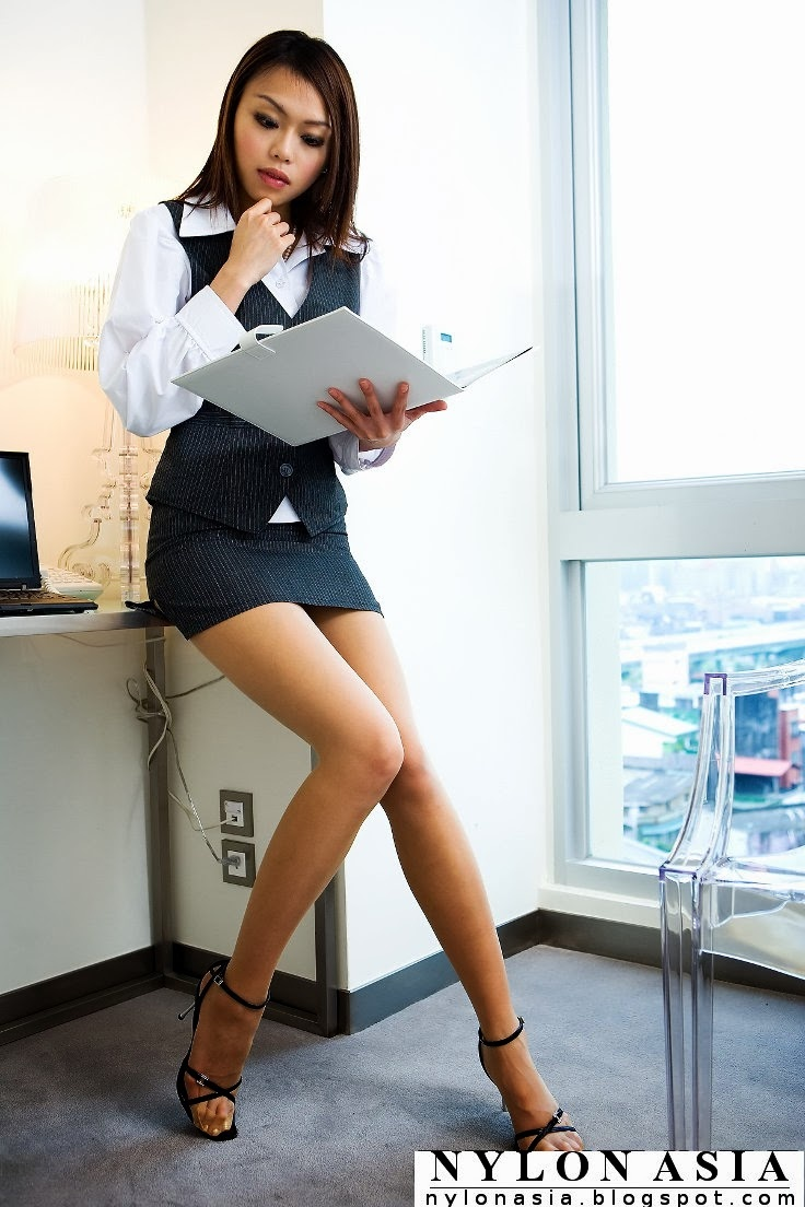 Hot pantyhose office girl probably shakespeare