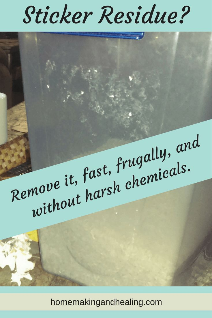 removing sticker residue, easy to remove sticker residue, all natural sicker residue remover