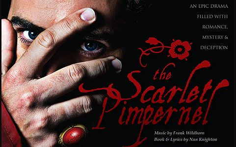 "Admission to ""The Scarlet Pimpernel"" Musical, only $5. Opens tonight!"