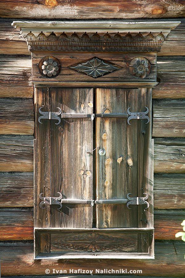 Ставни из Костромского музея деревянного зодчества - http://nalichniki.com/stavni-iz-kostromskogo-muzeya-derevyannogo-zodchestva/