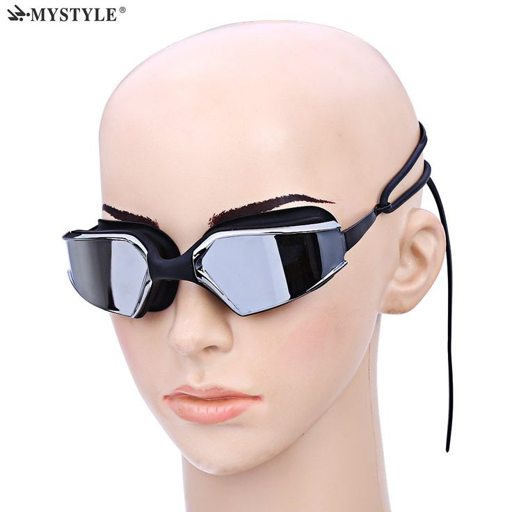 MYSTYLE AF - 1500M Water Resistant Anti-fog Swimming Goggle UV Protection Electroplate Eyewear Glasses Swimming Goggles