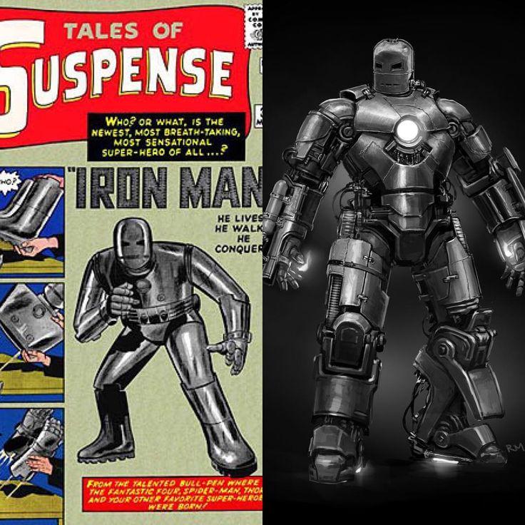 The Original Iron Man Concept Art