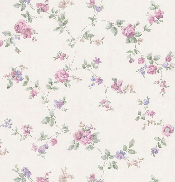 Brewster 426-6329 Cameo Rose IV Swag Trail Wallpaper, 20.5-Inch by 396-Inch, Red - - Amazon.com
