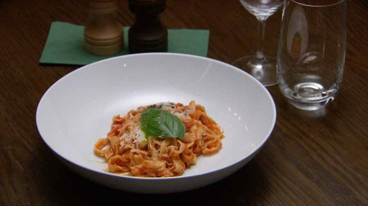 Fettuccine Arrabiata with Sopressa