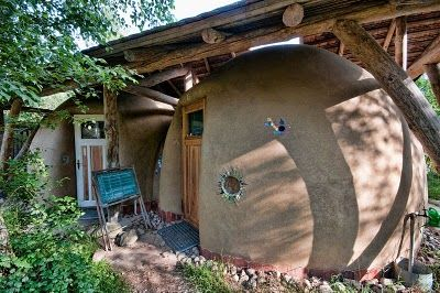 from a german ecovillage. There is a companion bath house.