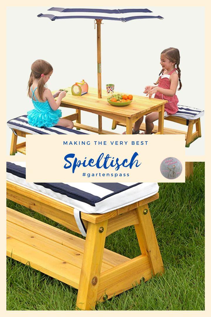 ☀️Spieltisch. Gartenmöbel für Kinder. in 2020   Spieltisch