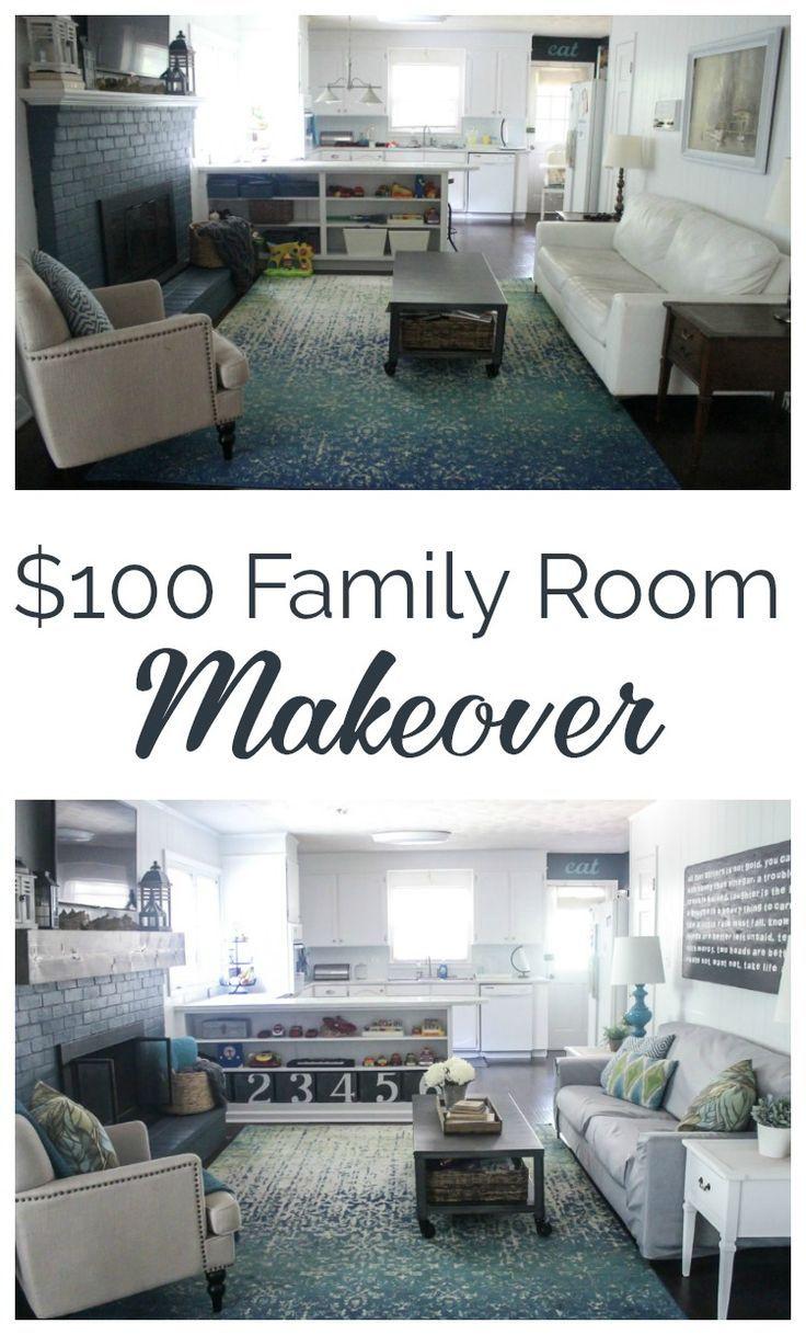 100 Family Room Makeover Reveal Lovely Etc Family