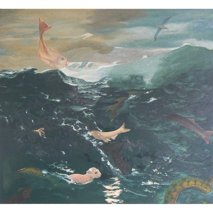 'Sea' (2009) Oil on Linen 180 x 200 cm