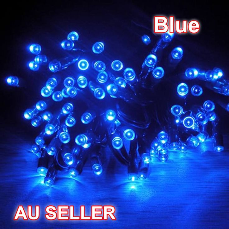 New 17M 32M Blue Solar Powered Fairy Lights String Waterproof Christmas Party De